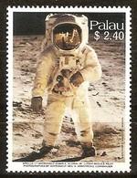 Palau 1989 Yvertn° 267 *** MNH Cote 8 Euro Aldrin Sur La Lune - Palau