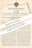Original Patent - William Christopher Baxter , East Bridgewater , USA , 1900 , Schleifwalze Zum Entfasern Von Baumwolle - Historical Documents