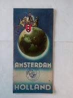 Ancienne Brochure D'Amsterdam - Holland .... NA71 - Tourism Brochures