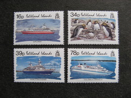FALKLAND:TB Série N° 604 Au N° 607, Neufs XX. - Falkland Islands