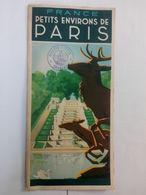 Ancien Dépliant Touristique De Paris . Voyages Brooke Charleroi .... NA72 - Tourism Brochures