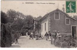 LE PLESSIS-ROBINSON  (92)  Poste Forestier De L'Obélisque - Le Plessis Robinson