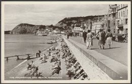 The Promenade And Beach, Sidmouth, Devon, C.1950 - Postcard - England