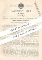 Original Patent - Ehregott Schroeder , Emil Georg Prillwitz , Berlin , 1901 , Herst. Von Silberpapier   Silber , Metall - Historical Documents
