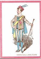 CHROMO  COMPAGNON DE LA MARJOLAINE - Trade Cards