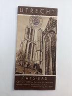 Ancien Dépliant Touristique De Utrecht . Voyage Brooke Charleroi ... NA75 - Tourism Brochures