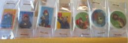 Fèves Brillantes Plates - Série Complète Ours Paddington - Animals