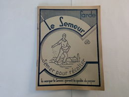 """Ancien Cahier Quadrillé Vierge """" Le Semeur """" Avec Table De Multiplication ... NA77 - Books, Magazines, Comics"""