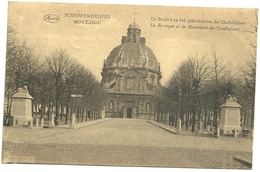 Montaigu : La Basilique Et Le Monument Des Combattants - Scherpenheuvel-Zichem