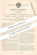 Original Patent - Farbwerk Griesheim / Main Noetzel , Istel & Co 1899 , Baumwollfarbe Aus Oxydinitrodiphenylamin   Farbe - Historical Documents