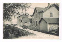 CPA (16) Montemboeuf. Avenue De La Gare. (B1.116) - France