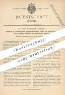 Original Patent - Dr. Carl Scheibler , Berlin , 1884 , Gewinnung  V. Phosphorsäurereichen Teilen Der Thomasschlacke - Historical Documents