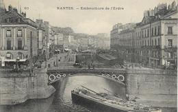 Cpa Nantes, Embouchure De L'erdre, Barges - Nantes
