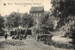 BELGIQUE - ANVERS - BOOM - Pensionnat Présentation Notre-Dame - Parc. - Boom