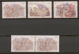 Australia 1991 Mi# 1270-72 (CTO) CHRISTMAS - 1990-99 Elizabeth II