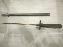 RARE BAIONNETTE SONDE AMAGNETIQUE DE DEMINAGE Mine Grenade Obus - Decorative Weapons