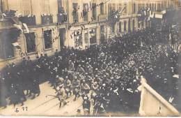** Carte Photo / Real Photo ** EVENEMENTS ( MILITARIA ) Entrée Des Français Dans MULHOUSE (68) Le 17/11/1918 - Haut Rhin - Otros