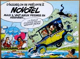 EO 1980 > Album Publicitaire FRANQUIN : GASTON AU NOVOTEL (5 Histoires Inédites De Gaston) - Gaston