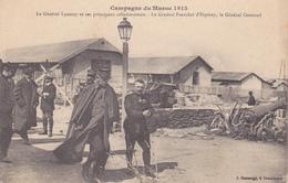 Fez Campagne Du Maroc 1913, Le Général Lyautey Et Ses Principaux Collaborateurs - Fez (Fès)