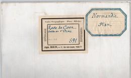 Cartes Marines Service Hydrographie De La Marine 1880 De La Rade De Caen Et De L Entrée De L Orne édition 1908 - Nautical Charts