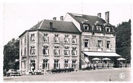CPSM : BAUCHE EVREHAILLES - Café De La Gare , Hôtel Restaurant Et Home Des ACEC - Yvoir