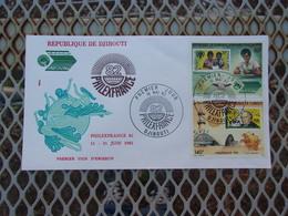 DJIBOUTI (1982) PHILEXFRANCE - Djibouti (1977-...)