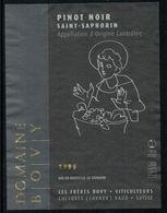 Etiquette De Vin // Pinot Noir De St.Saphorin, Vaud, Suisse - Etiquettes
