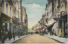 Cpa Douai, Rue St Jacques, Voitures Anciennes, En L'état - Douai