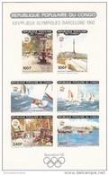 Congo Nº Michel 1183B Al 1188B En Hoja SIN DENTAR - Summer 1992: Barcelona