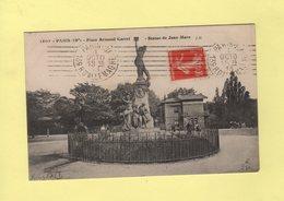 Krag - Paris 139r D Allemagne - 7 Lignes Droites - Postmark Collection (Covers)