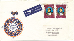 French Polynesia Cover Sent Air Mail To Switzerland 10-2-1977 - Polynésie Française