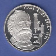 Bundesrepublik 10DM Silber-Gedenkmünze 1988  Carl Zeiss  PP - [ 7] 1949-… : RFA - Rép. Féd. D'Allemagne