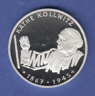 Bundesrepublik 10DM Silber-Gedenkmünze 1992  Käthe Kollwitz  PP - [ 7] 1949-… : RFA - Rép. Féd. D'Allemagne