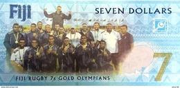 Fiji P.new 7 Dollars 2017  Unc - Fiji