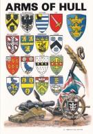 KINGSTON UPON HULL - ARMS. MODERN - England