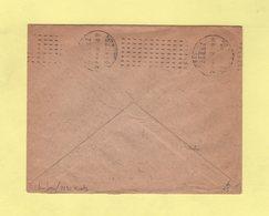 Chambon - 7 Lignes De Tirets En Arrivee - Paris XIX 139 R. D Allemagne - 1913 - Marcophilie (Lettres)