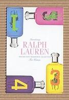 CC Carte Parfumée 'RALPH LAUREN' 1234  Perfume Card BLOTTER 7.5 X 5 Cm - Modern (from 1961)