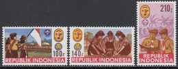 Indonesia 1986 - National Scout Jamboree, Jakarta - Mi 1201-1203 ** MNH - Indonesia