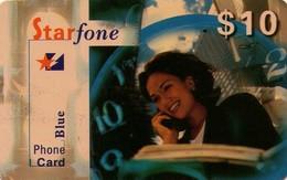 TARJETA TELEFONICA DE ESTADOS UNIDOS (PREPAGO). STAR FONE BLUE $10. (027) - Vereinigte Staaten