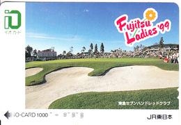 "JAPAN - Fujitsu Ladies""99, IO Ticketcard Y 1000, Used - Unclassified"