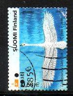 FINLANDE. N°1559 Oblitéré De 2002. Cygne. - Swans