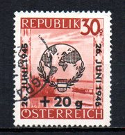 AUSTRIA 1946 CANCELLED At - 1945-.... 2. Republik