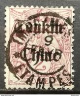 Indochina Indochine FAKE Local Overprint TONKIN CHINE - Indochina (1889-1945)