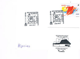 Spanien Sonderstempel Algeciras - 50 Jahre FESOFI - 1931-Heute: 2. Rep. - ... Juan Carlos I