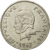 Monnaie, French Polynesia, 20 Francs, 1967, Paris, TB+, Nickel, KM:6 - French Polynesia