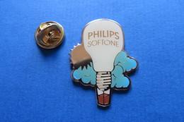 Pin's,PHILIPS, Heissluft-Ballon, Softone - Aviones