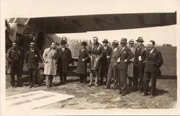 Aviation - Avion Nieuport - Lausanne-Blécherette 1921 - Rare - Aérodromes