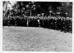 """MILITAIRES CIVILS TENANT DES PANCARTES""""MONTRICOURT"""" """"MAS GRENIER"""" """"ROQUECOR"""" """"SEPTFONDS"""" PH.T.S.F. F. JAUBERT MONTAUBAN - Lieux"""