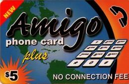 TARJETA TELEFONICA DE ESTADOS UNIDOS (PREPAGO). NEW, AMIGO PHONE CARD PLUS $5. (032) - Vereinigte Staaten