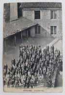 CPA Carte Photo MONISTROL 26 Juillet 1909 Photo D'ecole Animée - Monistrol Sur Loire